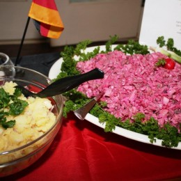 Herring salad – yum!