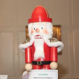 HUGE Steinbach German nutcracker donated to the silent auction by the Haueisen Family